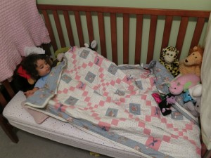 1st Night in Toddler Bed2